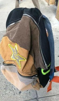 1/1 Asspizza 7/30 Patchwork Backpack Brand New Warren Lotas