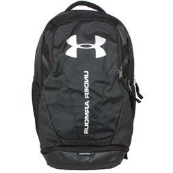 Under Armour 1294720 Hustle 3.0 Backpack, Black