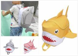14'' Shark Boys Kids Shoulder Bags Rucksack Daypacks Backpac