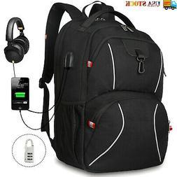15.6/17.3 inch Laptop Backpack Zip Around Anti Theft Waterpr