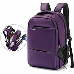15.6-17 Inch Business Laptop Backpacks Women Mens Water Resi