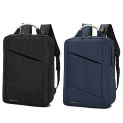 """15.6"""" Anti-theft Mens Womens USB Charging Backpack Laptop No"""