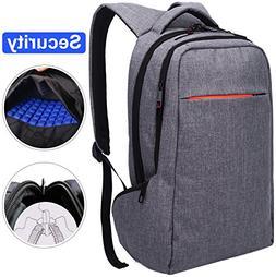 LAPACKER 15.6 Anti Theft Slim Water Resistant Laptop Backpac