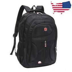 15.6'' Outdoor Men Nylon Waterproof School Backpack Satchel