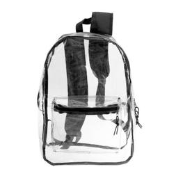 15 clear security backpack safe to use