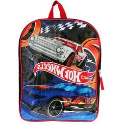 """Hotwheels 15"""" Kids Backpack"""
