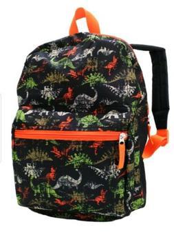 "15"" Kids DINOSAUR  DINO Backpack Pre School Toddler Book Bag"