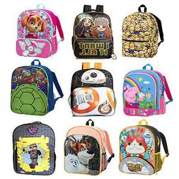 "16"" Kid's Back To School Backpacks with Front Pocket - Multi"