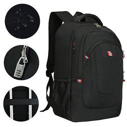 17.3 inch Laptop Backpack USB Anti Theft Waterproof Travel S