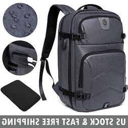 17.3 inch Laptop Backpack Waterproof Anti Theft USB Notebook