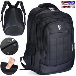 17 inch Mens Waterproof Laptop Backpack Computer Outdoor Tra