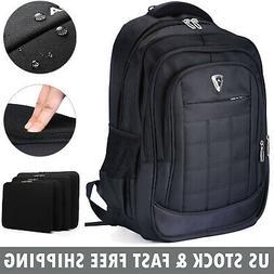 """17"""" Laptop Backpack Notebook Satchel Waterproof Outdoor Trav"""