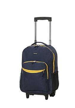 17 Rolling Backpack - Color: Navy