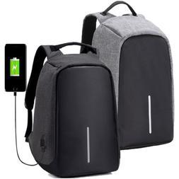 "17"" Waterproof Laptop Backpack Rucksack Computer Notebook Ba"