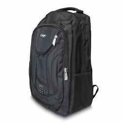 18 1/2 Inch Black Multi Purpose School Book Bag / Travel Car