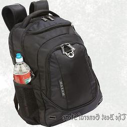 """19"""" Black Padded Airflow BACKPACK LAPTOP BAG Computer Sleeve"""