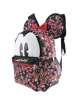 "2018 Licensed Disney Minnie Mouse 16"" 3-D Style School Backp"