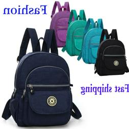 2019 Mini Women Backpack Purse Nylon Small Backpack Shoulder