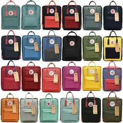 20L/16L/7L Classic Fjallraven Kanken Canvas Backpack Sport B