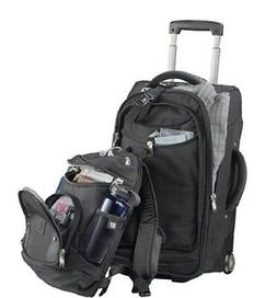 High Sierra 22 Wheeled Carry-On Luggage with Removable Day P