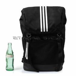 Adidas 3 Stripes Backpack & BookBag Black/White Sportstyle U
