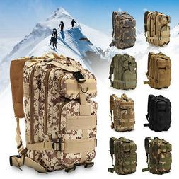 30L 3P Outdoor Military Tactical Backpack Rucksacks Camping