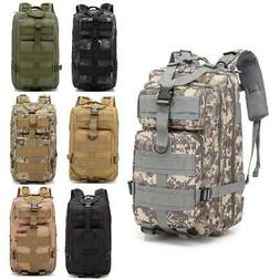 30L Outdoor Military Tactical Assault Backpack Waterproof Hi