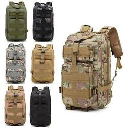 30L Outdoor Military Tactical Rucksacks Hiking Camping Shoul