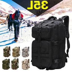 35L Outdoor Military Rucksack Tactical Backpack Army Hiking