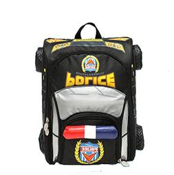 3D Police Car Style Baby Boys Schoolbag Backpack for Kids