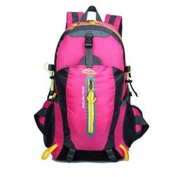 40L Hiking Backpack Waterproof Large Travel Camping Sports S