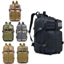 40L Military Tactical Backpack Rucksack Hiking Camping Daypa