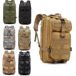 30L Military Tactical Backpack Outdoor Rucksack Bag Waterpro