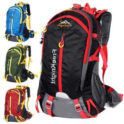 40L Outdoor Backpack Hiking Bag Camping Travel Waterproof Da