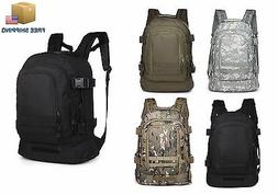 40L Outdoor Expandable Tactical Backpack Military Camping Hi