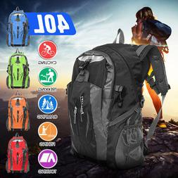 40L Waterproof Outdoor Climb Backpack Hiking Daypack Camping