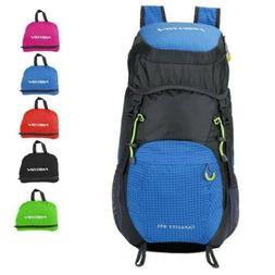 45L Hiking Foldable Backpack Lightweight Daypack Bag  Travel