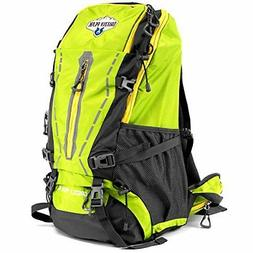 45L Internal Frame Hiking Camping Daypack Backpack, Water Re