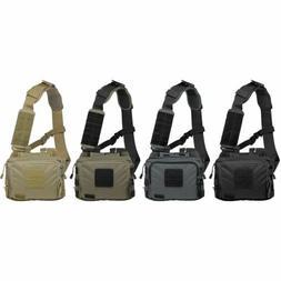 5.11 Tactical 2-Banger Waterproof Nylon Padded Gear Bag w/ P