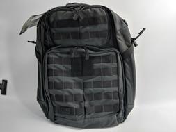5.11 TACTICAL RUSH 24 BLACK HIKING MILITARY SHOULDER BAG MED