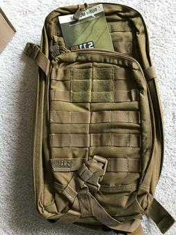 5.11 Tactical Rush Moab 10 Backpack FDE - New with tags-FREE