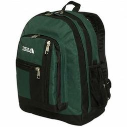 Everest 5045-GN 16.5 in. Double Compartment Backpack