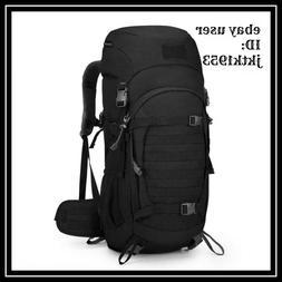Mardingtop 50L/60L Hiking Backpack Molle Internal Frame Back