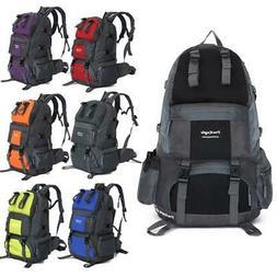 50L Backpack Climbing Hiking Bag Rucksack Camping Travel Wat