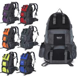 50L Backpack Climbing Hiking Bag Rucksack Camping Travel Wat
