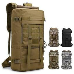 50L Outdoor Camping Bag Pack Travel Duffle - Backpack