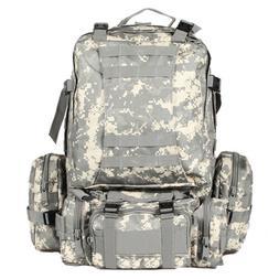 55L ACU Military Sport Camping Trekking Hiking Bag Tactical