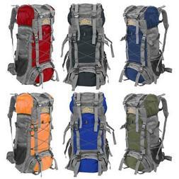 60L Camping Travel Rucksack Backpack Climbing Hiking Bag New