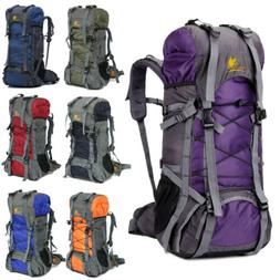 60L Camping Travel Rucksack Backpack Climbing Hiking Bag New