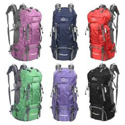 60L Camping Travel Rucksack Mountaineering Outdoor Backpack